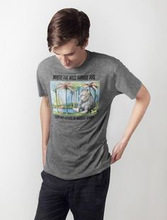 Out of Print Where the Wild Things Are Men s T-Shirt  4a63df157