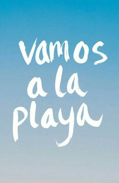 Vamos a la playa quotes about the beach, cute beach quotes, beach quotes and Summer Beach Quotes, Summer Quotes Tumblr, Beach Qoutes, Quotes To Live By, Me Quotes, Vacation Captions, Instagram Quotes, Travel Quotes, Vacation Quotes
