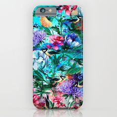 Check out society6curated.com for more! @society6 #floral #flowers #pattern #phone #case #phonecase #accessory #accessories #fashion #style #buy #shop #sale #cool #sweet #rad #awesome #fun #beautiful #beauty #pretty #botanical #iphone #products #product  #botanical #birds #blue #purple #violet #red #pink #green