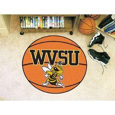 FANMATS NCAA West Virginia State University Basketball Mat