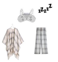 """""""Cozy at home"""" by reellesellessont on Polyvore featuring moda, cozy, sleepwear y pyjamas"""