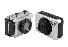 Action Camera Silver Edition SDV-5271 by 8Ten. Action camera with 5.0 MP, memory upto 64GB, video resolution 1080, touch screen, water resistant up to 10 Meter. Perfect camera for you who love to travelling. http://www.zocko.com/z/JJExX