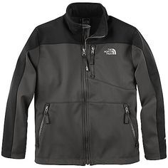 FEATURES of The North Face Boys' Apex Bionic Jacket TNF Apex Universal fabric wind permeability rated at 0 CFM Brushed collar lining Zip Napoleon pocket Zippered hand pockets Storm flap ID-label Embroidered logo at left chest and back right shoulder SPECIFICATIONS of The North Face Boys' Apex Bionic Jacket Average Weight: 11.2 oz / 317 g Center Back Length: 22 in. TNF-Apex ClimateBlock 100% Polyester mechanical stretch with DWR and fleece backer This product can only be shipped within the…