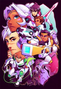 Another poster I realize I forgot to post online Here's my Voltron poster. I spent quite some time thumbnailing it and working out what I was going to do; I wanted to make something… Dynamic. Voltron Poster, Voltron Fanart, Form Voltron, Voltron Klance, Voltron Force, Voltron Memes, Prince Lotor, Princess Allura, Robotech Macross