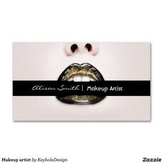 Makeup artist business card eyes eyelashes all white makeup artist business card reheart Choice Image