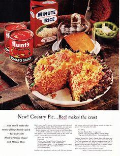 The Beef is the Crust, The Crust is the Beef Ladies' Home Journal, December 1960