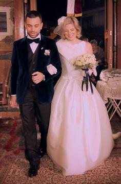 xmas wedding couple