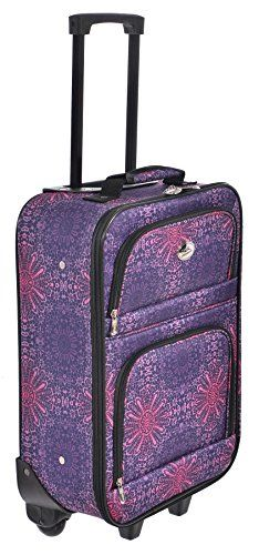 "Jetstream 18"" Carry On Suitcase New Purple Starburst Print Jetstream http://www.amazon.com/dp/B019EF8DSM/ref=cm_sw_r_pi_dp_gY6exb1Q7CWAB"