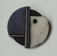Picture of Raku brooch