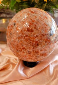 XL Sunstone Sphere for Joyful Creativity