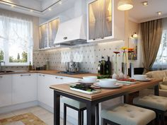 Kitchen visualizations by Happy Irena | Home Adore