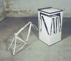Spin dryer with Bicycle Frame, 1981 by Bill Woodrow Cool Artwork, My Arts, Bicycle, Artists, Fine Art, Deconstruction, Metals, Spin, Instruments