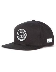 Rip Curl MF Snapback Hat in Black Mick Fanning 0ae6603ecdf
