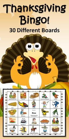 Thanksgiving Bingo Game How fun is THIS! Great for parties at home or school. Thanksgiving Bingo, Thanksgiving Activities For Kids, Thanksgiving Prayer, Thanksgiving Crafts, Thanksgiving Decorations, Holiday Crafts, Holiday Fun, Fall Preschool, Holiday Ideas