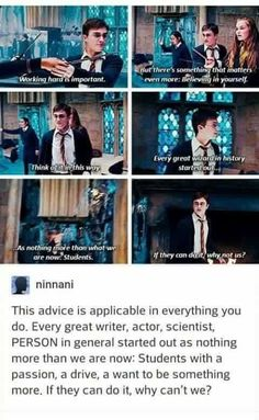 This is why Harry Potter was the best! It thought us so much, especially how to believe and love yourself :) Harry Potter Quotes, Harry Potter Love, Harry Potter Universal, Harry Potter Fandom, Harry Potter World, Hp Quotes, Depressing Quotes, Harry Potter Canvas, Harry Potter Marathon