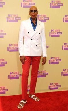 RuPaul at VMAs 2012