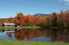 I love fall in vermont the most!
