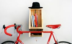 Suporte de bicicleta ganha design multifuncional e sustentável
