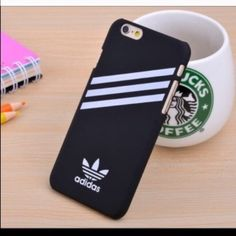 Adidas Case Very nice black hard adidas case for iPhone 6 Plus brand new in  package 0be70113dea0e