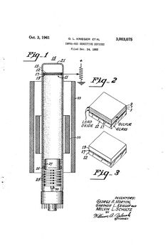 Patent US3003075 - Infra-red sensitive devices - Oct 3, 1961