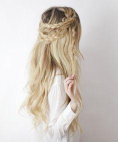 Half-up Boho Braids ┊ Hair Tutorial