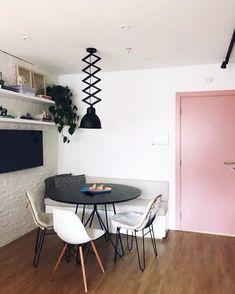 Small Apartment Design, Interior Minimalista, Sweet Home Alabama, New Room, Interiores Design, Decoration, Home Art, Room Inspiration, Living Room Decor