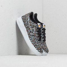 Nike Air Force 1 JDI Premium (GS) Black/ Total Orange-White Air Force 1, Nike Air Force, Front Row, Louis Vuitton, Orange, Funko Pop, Sneakers, Shoes, Black