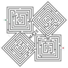 Olawn maze???