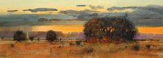 tom perkinson paintings | Autumn Rainstorm by Tom Perkinson
