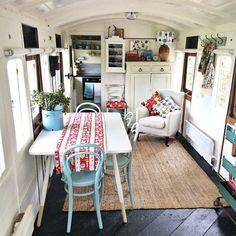 Railway carriage in the garden