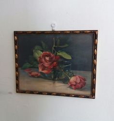 Old printed picture from I love these pathetic paintings. Print Pictures, Fleas, Paintings, Retro, Printed, Vintage, Art, Art Background, Paint