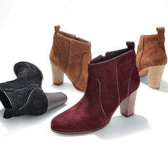 boots for baby boomers - http://boomerinas.com/2012/12/fashion-boots-for-women-over-40-50-60-you-can-never-have-too-many-boots/