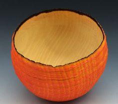 Die Orange  Sycamore Bowl von makye77 auf Etsy
