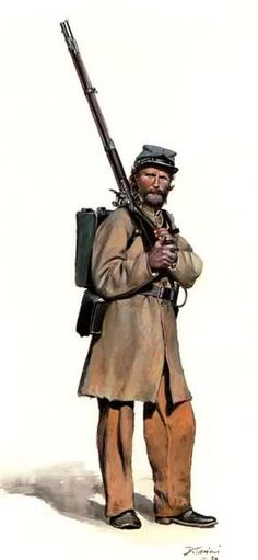1862 - 19th Tennessee Infantry - Abril - Don Troiani.