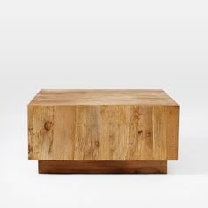 Plank Coffee Table, kind of love this if we bunched two together. Love that it has that raw natural feel but still feels modern.
