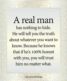 And that is why I don't trust no one not just men....