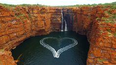 The majestic King George Falls