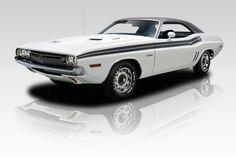 1971 White Dodge Challenger RT 340 V8