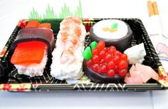 Sushi Soap Gift Set  Vegan Soap  food soap  by AubreyEApothecary, $17.75