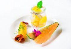 Trilógia z melóna Cantaloupe (granita, želé, grilovaný melón) Cantaloupe, Fruit, Food, Essen, Meals, Yemek, Eten