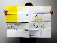 Self promotion poster by Soy Han, via Behance Cv Design, Print Design, Graphic Design, Direct Mail Design, Brochure Folds, Campaign Posters, Letterpress Business Cards, Booklet Design, Self Promotion