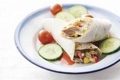 Tortillawrap met tonijn - Recept - Allerhande