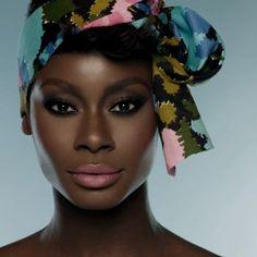Light pink lipstick on dark brown skin. Via Black Girls Killin It Beauty Makeup, Hair Makeup, Hair Beauty, Dark Skin Makeup, African Beauty, African Fashion, African Women, My Black Is Beautiful, Brown Skin