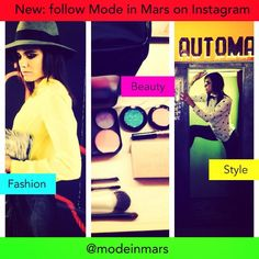 Follow @modeinmars Suivez @modeinmars Runway | Style | Beauty ... My NEW insta all about fashion... on Mars... ➡️➡️➡️➡️@modeinmars Défilés | Style | Beauté ... Mon NOUVEAU compte insta rien que sur la mode... in mars ;) ➡️➡️➡️➡️ @modeinmars #Happy #new #profile #blog #instagram #fashion #ilovefashion #ilovemylife #lifeisbeautiful #me #melissa #mars #melissamars #modeinmars #beauté #maquillage #style #mode #Makeup #beauty #backstage ...