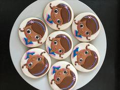 Dr. McStuffins cookies