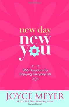 New Day, New You: 366 Devotions for Enjoying Everyday Life by Joyce Meyer, http://www.amazon.com/dp/044658195X/ref=cm_sw_r_pi_dp_tLtTpb130GC4Q