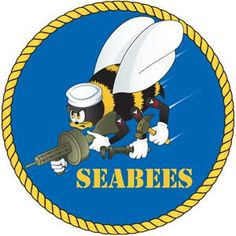 Image detail for -US Navy Seabees Decal | Medals of America