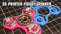 [video] TRIFORCE MINI | Colorful nutty 3D printed fidget spinner. Click 'Visit' for the video.