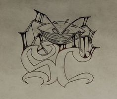 Strube's Stink Bug logo. Art by Todd Groff.