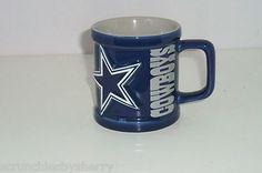 Dallas Cowboys Football Blue Coffee Mug 2000 NFL